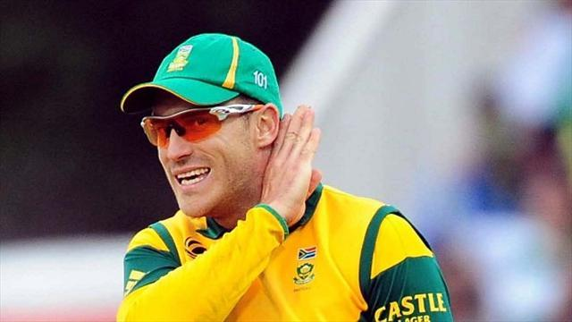 Cricket - Du Plessis helps inspire SA win