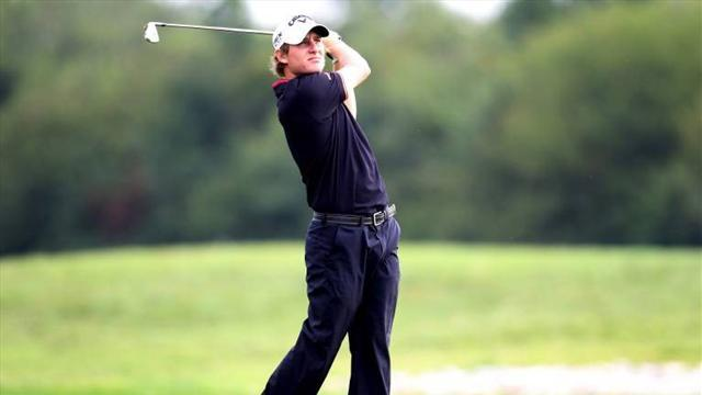 Golf - Argentine leader Grillo on fire at Africa Open