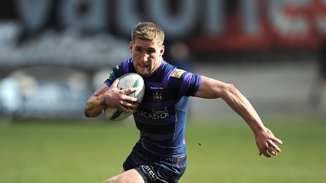 Rugby League - Sam Tomkins File Photo