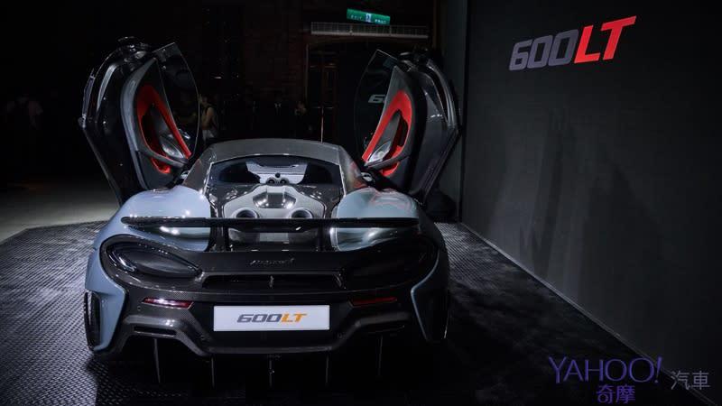 【新車圖輯】長尾傳說飆風再起!McLaren Sport Series最強車款600LT台灣正式發表!
