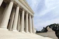 FILE - In this May 3, 2011 file photo, the Supreme Court is seen in Washington. The Supreme Court said Monday it will hear arguments in March over President Barack Obama's health care overhaul, setting up an election-year showdown over the White House's main domestic policy achievement. (AP Photo/Alex Brandon, File)
