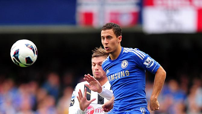Chelsea new boy Eden Hazard has already made a big impact at Stamford Bridge
