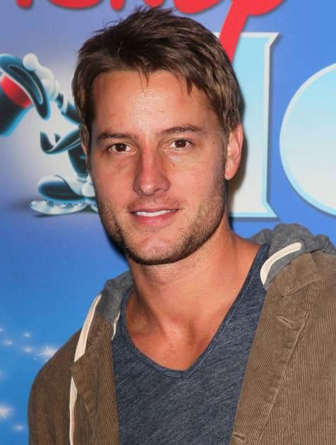 Justin Hartley attends the opening night of Disney On Ice's 'Dare To Dream' at LA Kings Holiday Ice at L.A. LIVE on December 12, 2012 in Los Angeles -- Getty Images