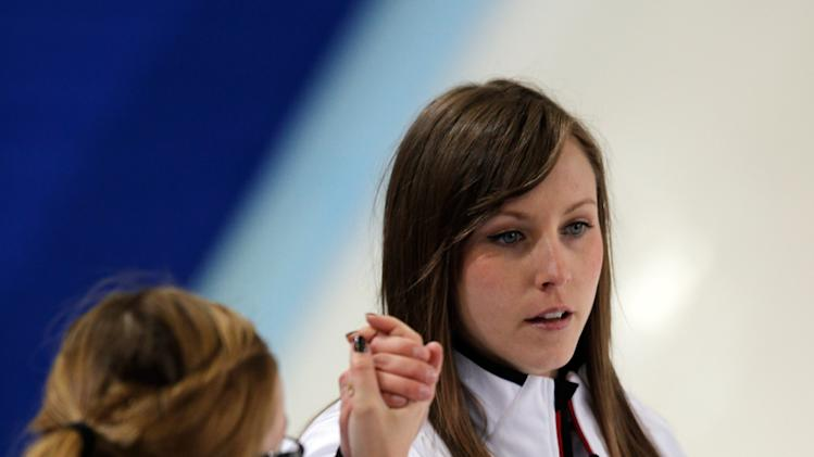 World Women's Curling Championship - Day Three