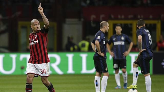 Serie A - De Jong nets as Milan scrape past Inter