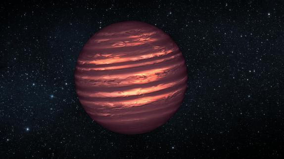 Wild Weather of Distant 'Failed Star' Revealed
