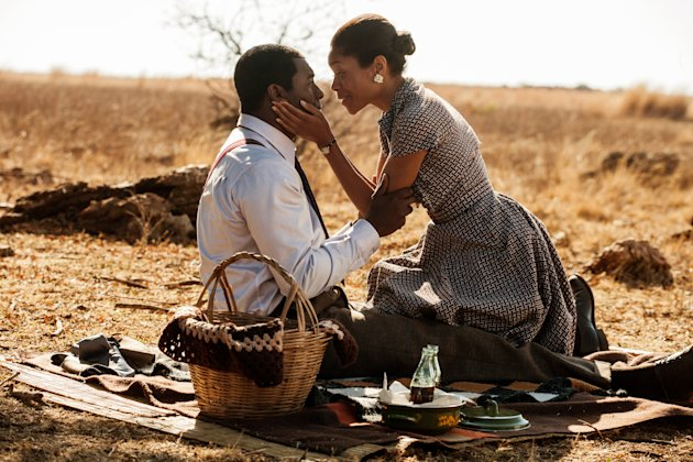 "Idris Elba and Naomie Harris in ""Mandela: A Long Walk To Freedom"""