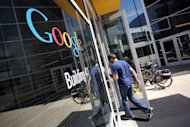 The Google logo is seen at the Google headquarters in Mountain View, California. A jury in a high-profile technology case ruled Monday that Google violated copyrights owned by Oracle Corp. for the Android mobile platform, but failed to agree on whether monetary damages should be paid