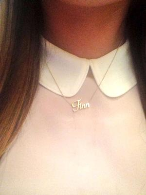 "Lea Michele Wears ""Finn"" Necklace Shooting Cory Monteith Glee Tribute"