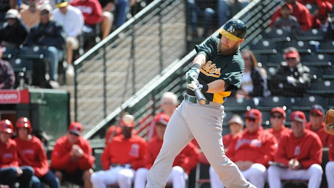 Oakland Athletics v Los Angeles Angels of Anaheim