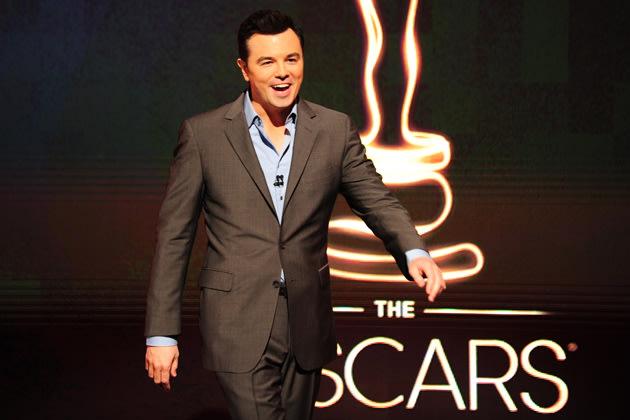 Ist dieses Jahr Gastgeber bei den Oscars: Seth MacFarlane (Bild: AFP)
