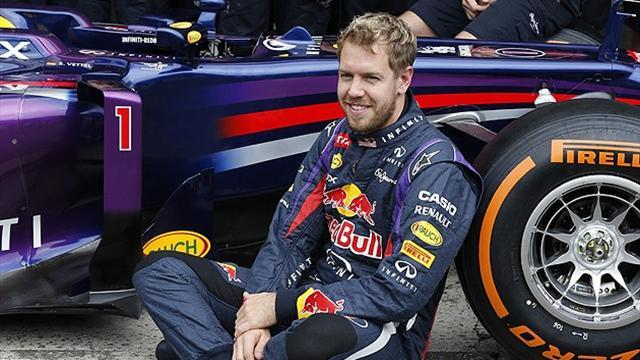 Formula 1 - Vettel goes for five in more ways than one
