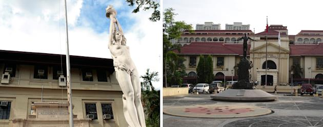 The University of the Philippines campus in Manila. (Photo from UP Manila website)