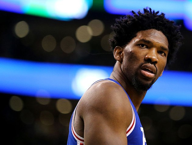 Joel Embiid. (Getty Images)