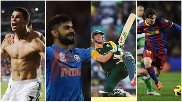 5 reasons why Virat Kohli & AB de Villiers are the Cristiano Ronaldo & Lionel Messi of the cricketing world