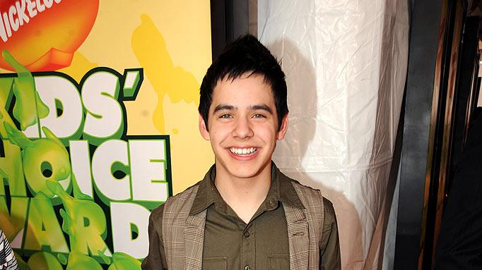 "David Archuletta arrives at ""Nickelodeon's 2009 Kids' Choice Awards"" at UCLA's Pauley Pavilion on March 28, 2009 in Westwood, California."