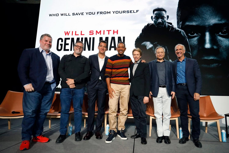 談到片中電腦特效之精巧,威爾史密斯爆料道:「儘管觀眾全都盯著年輕版的我,但他們不會發現,在片中幾場戲裡,其實也有完全數位的中年版威爾史密斯。而當人們絲毫沒有察覺時,你才知道這真正奏效了。」《雙子殺手》現正在台熱映中。