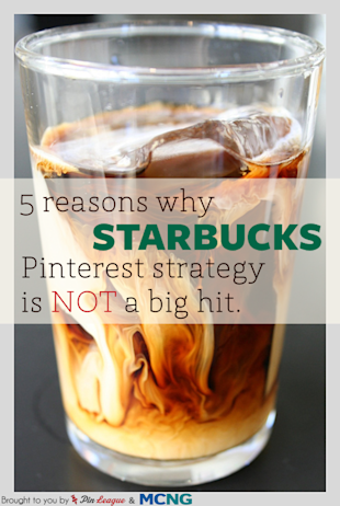5 Reasons Why Starbucks' Pinterest Strategy is Not A Big Hit image starbucks1