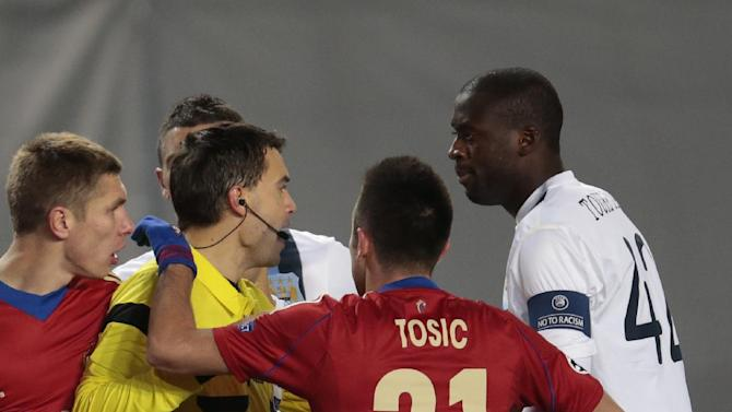 UEFA probes handling of CSKA-Man City incident