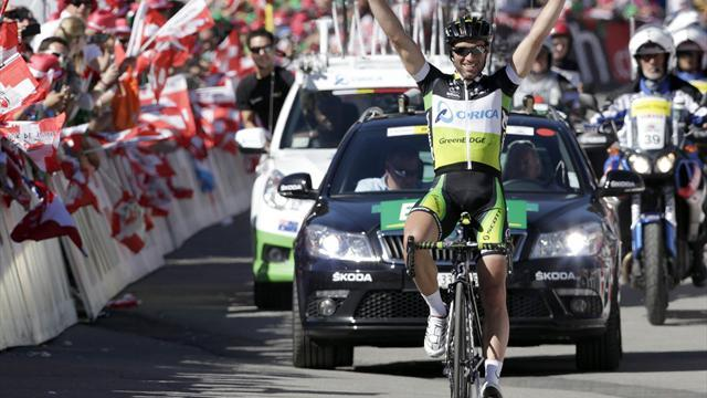 Cycling - Albasini solos to Swiss stage eight
