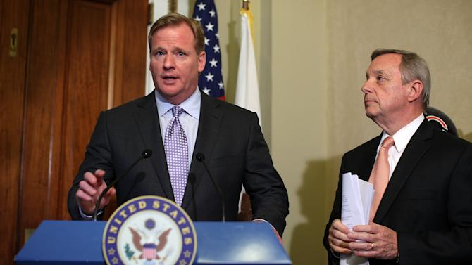 Dick Durbin meets With NFL Commissioner Goodell On Bounties In Pro Sports
