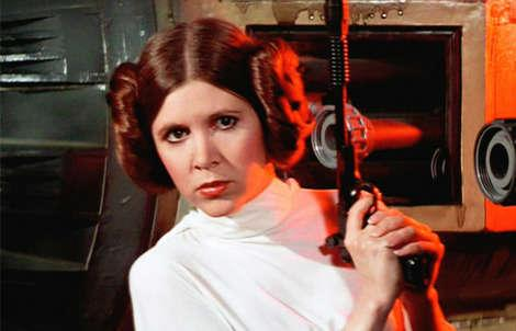 Carrie Fisher reportedly heading to London for 6 months of Star Wars filming.