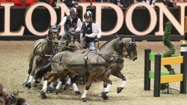 Equestrianism - Exell excels at Olympia