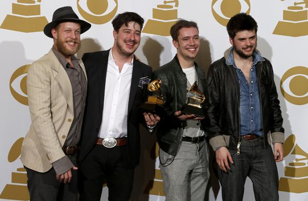 On the Charts: Mumford & Sons Lead Post-Grammy Bounce