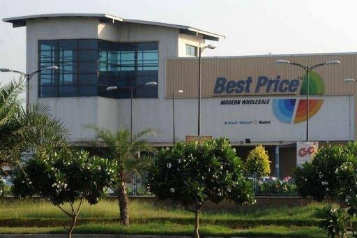A Bharti Walmart Best Price wholesale store in Manawala, near Amritsar. Walmart's Indian unit has suspended several employees as part of a probe into bribery allegations with a report saying its finance director was among those told to stay home.