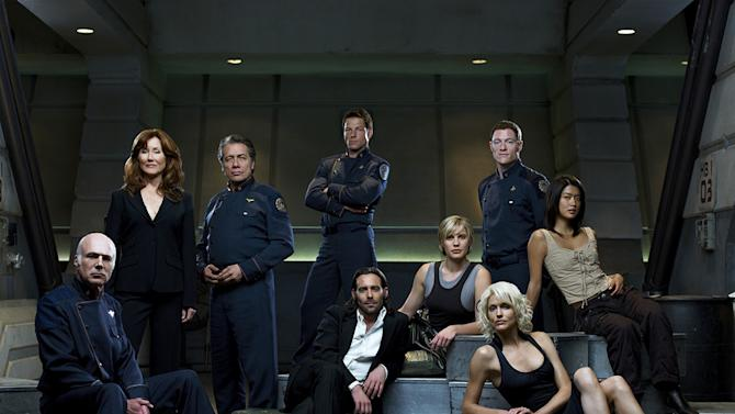 <b>Best Shows of '06-'07:</b> Battlestar Galactica is so frakkin' good it makes our heads spin.