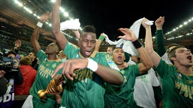 Ligue 1 - Saint-Etienne find new generation of heroes