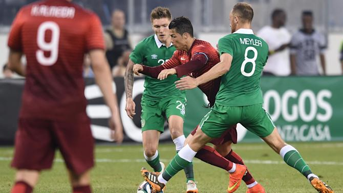 World Cup - Ronaldo returns as Portugal thump Ireland