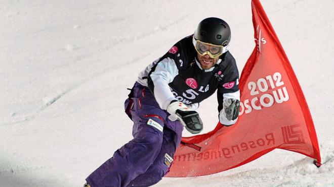 Simon Schoch Of Switzerland Competes AFP/Getty Images