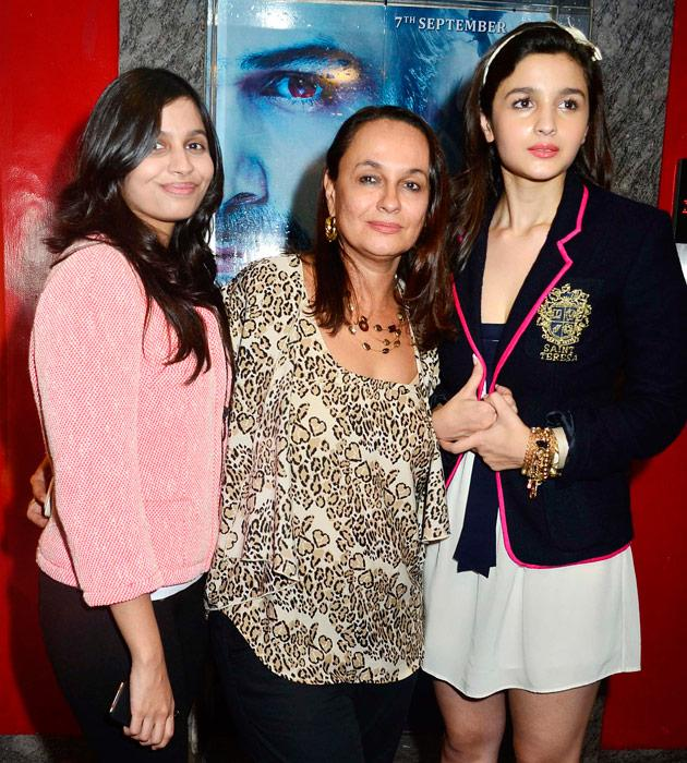 Rare pictures of Alia with her family