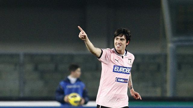 Italian Serie A - Palermo off bottom after 1-1 draw at Chievo