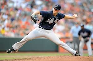 Alex Wood is one of the main pieces in a deal that's on hold. (Getty Images)