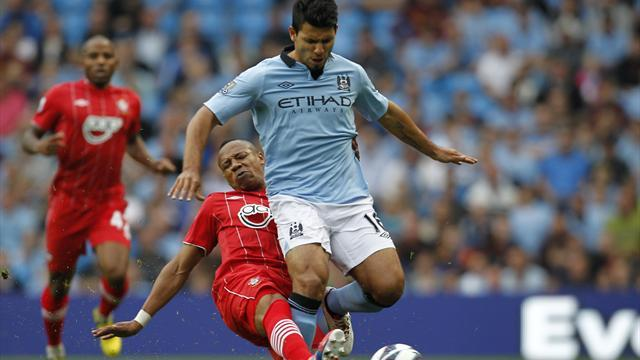 Mancini: Aguero may face Madrid