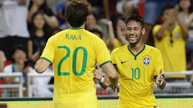 Kaka: Neymar will come and take record anyway