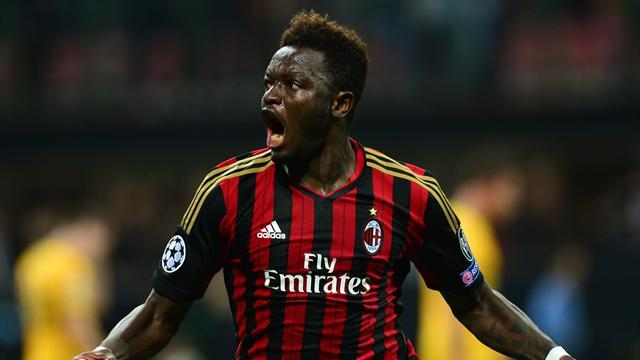 Champions League - Milan strike late to stun Celtic