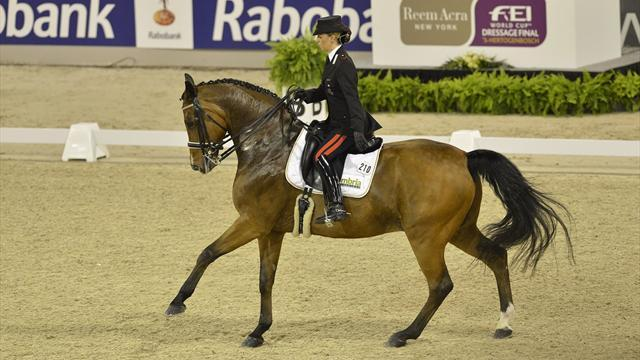 Equestrianism - Truppa impresses with second in Lyon