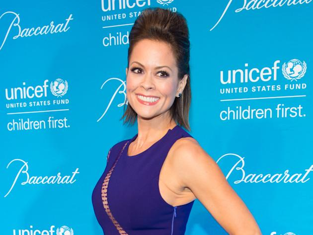 FILE - In this Dec. 2, 2014, file photo, Brooke Burke-Charvet attends the Tenth Annual UNICEF Snowflake Ball in New York. Burke-Charvet, the actress, entrepreneur and fitness guru, will co-host the 20