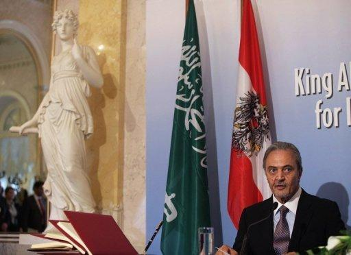 """Saudi Foreign Minister Prince Saud Al Faisal attends a ceremony last month for the establishment of the """"King Abdullah Bin Abdulaziz International Centre for Interreligious and Intercultural Dialogue"""" in Vienna. A new interreligious dialogue centre backed by Saudi Arabia is stirring up controversy in Vienna and abroad even before its official inauguration"""