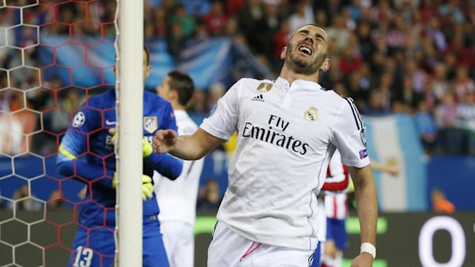 Champions League - Juventus v Real Madrid preview: Real head to Turin without Karim Benzema