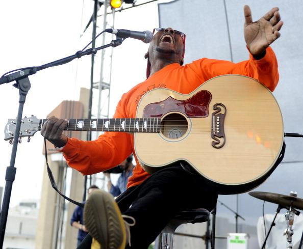 AUSTIN, TX - MARCH 16: Jimmy Cliff performs at the Live from the Lot by Google Play & YouTube at 2012 SXSW Music, Film   Interactive Festival Day 8 on March 16, 2012 in Austin, Texas. (Photo by Tim Mosenfelder/Getty Images)