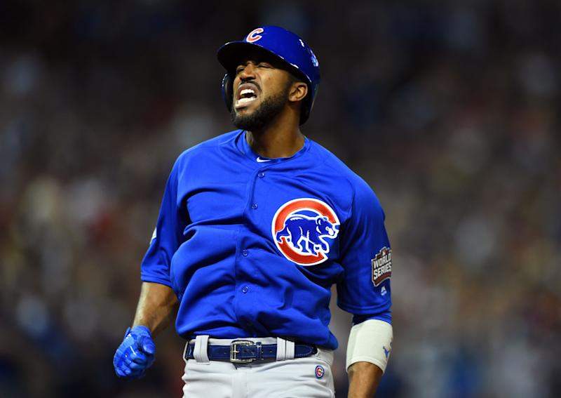 Dexter Fowler was the first player to ever lead off a World Series Game 7 with a home run. (USA Today)