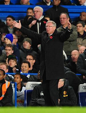 Sir Alex Ferguson was left frustrated as Manchester United exited the Capital One Cup