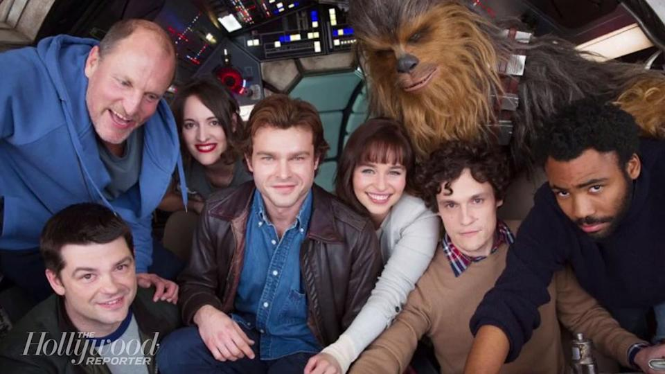 Disney Unveils First Cast Photo For Young Han Solo Movie | THR News