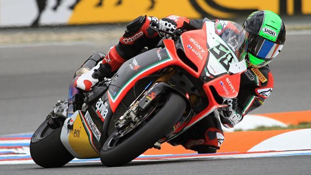 Superbike - Laverty quickest on day three at Jerez
