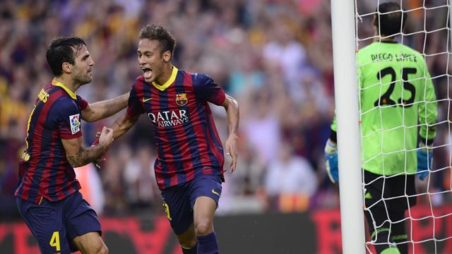 Liga - Neymar pleased with 'special goal'