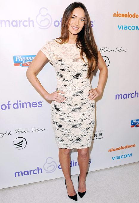 PICTURES: Wow! Megan Fox Shows Off Slim Bod on First Red Carpet Post-Baby